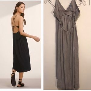 Wilfred cosmic dress sz xs grey ashen